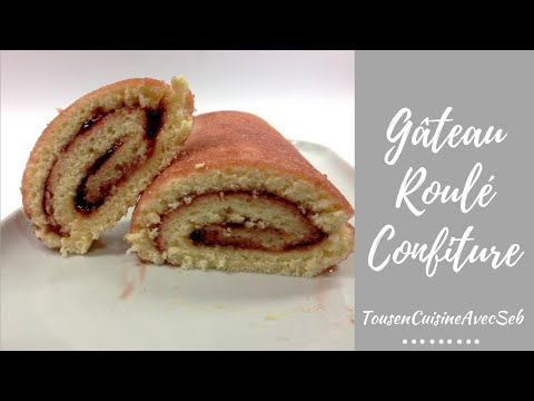 gâteau-roulé-confiture-(tousencuisineavecseb)