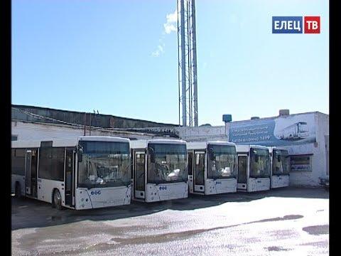 Первая пятёрка: новые автобусы в рамках обновления парка стали поступать в Елец