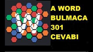 A Word Bulmaca 301 Cevabı
