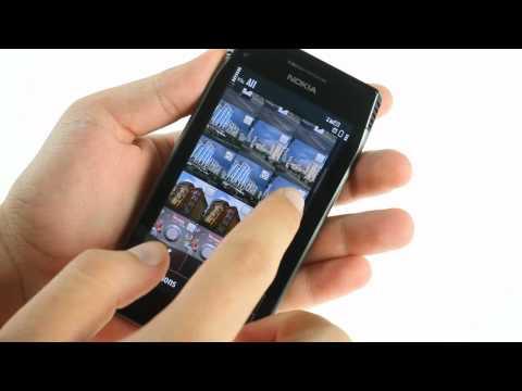 Nokia X7-00 UI demo - YouTube