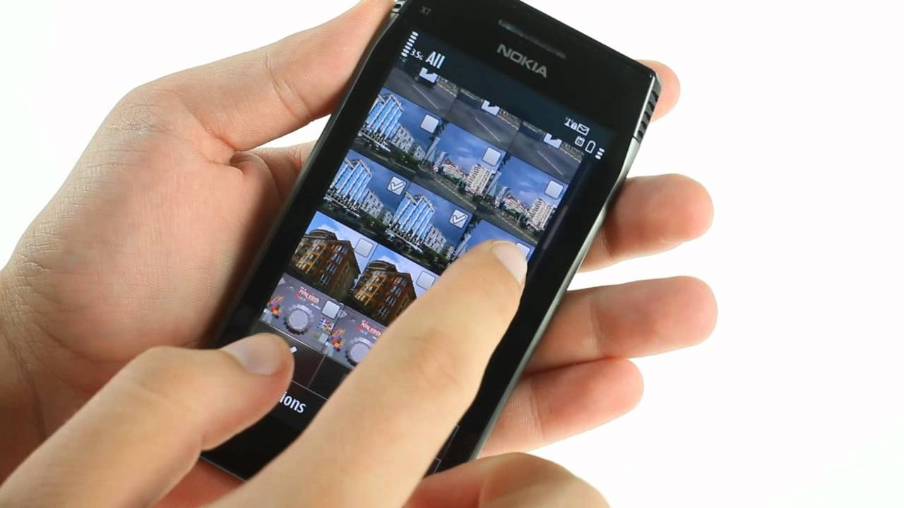 Nokia x7 00 software - Nokia X7 00 Ui Demo