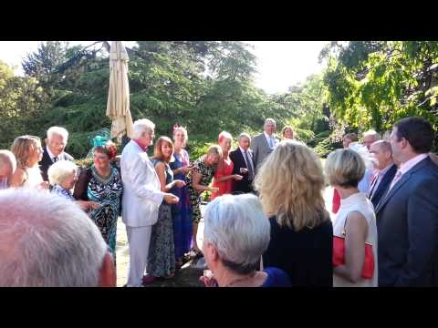 June wedding at Gliffaes