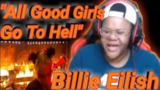 Billie Eilish- All The Good Girls Go To Hell( Live From American Music Awards/2019)**REACTION**