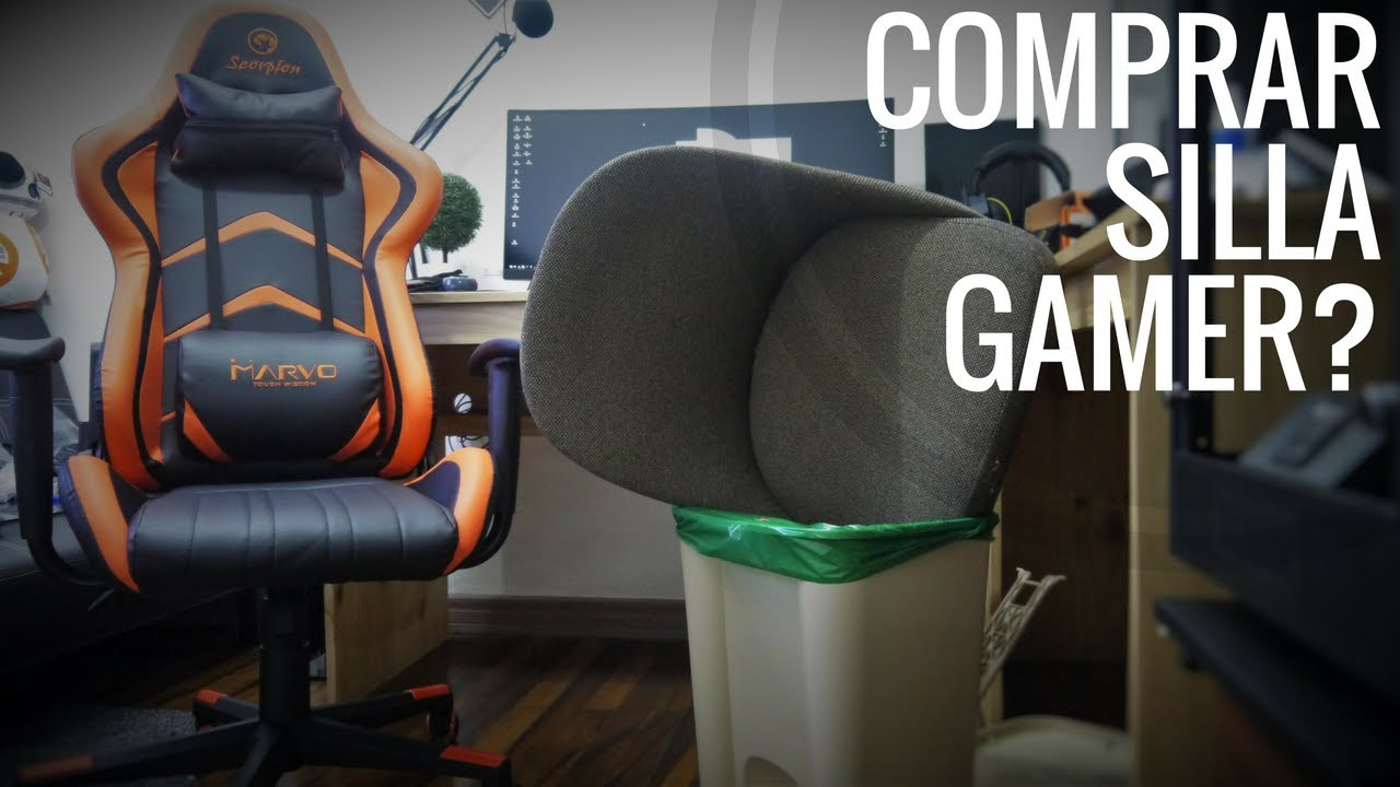 Vblog comprar una silla gamer youtube for Donde comprar una silla gamer