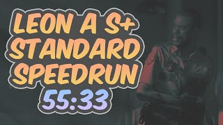 Resident Evil 2 Remake - Leon A Speedrun - 55:33