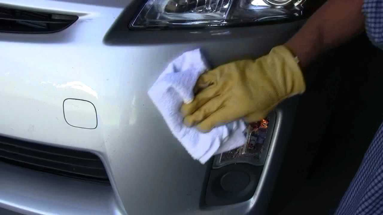 Applying Touch Up Paint To Your Car
