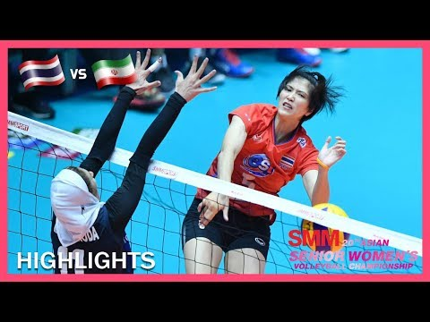 Thailand vs Iran | Highlights | Aug 22 | AVC Asian Senior Women's Volleyball Championship 2019