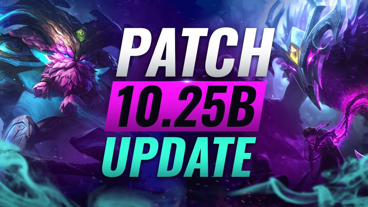 New Update Best Champions Tier List League Of Legends Patch 10 25b Youtube