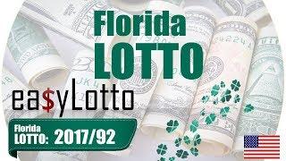 Florida LOTTO numbers Nov 18 2017