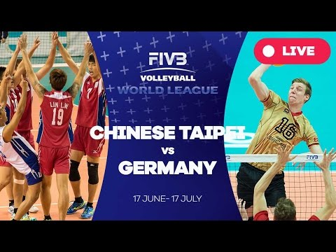 Chinese Taipei v Germany - Group 3: 2016 FIVB Volleyball World League