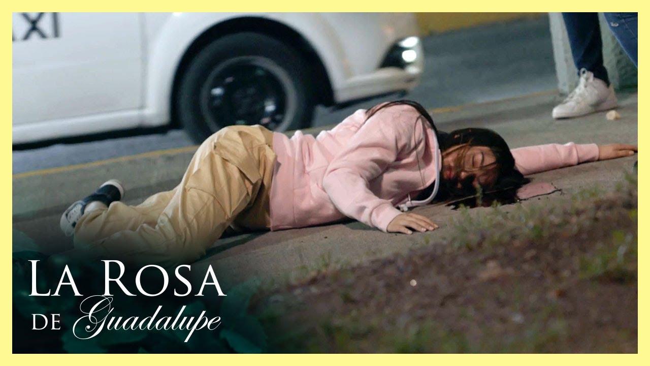¡Brisia decide arrojarse de un puente! | Más allá del cielo azul | La Rosa de Guadalupe