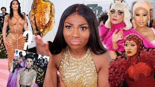 MET GALA 2019 FASHION ROAST! SIS STOLE HER LOOK? MY FULL OPINION...