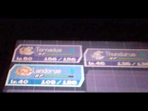 How to change the forms of Tornadus Thunderus and Landorus - YouTube