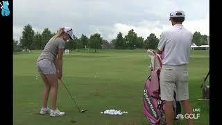Is Paula Creamer Wearing Underwear On A Golf Course?