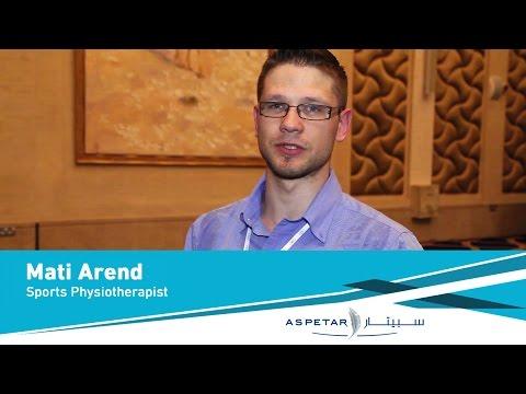 Mati Arend, Sports Physiotherapist - Tartu university hospital - Estonia