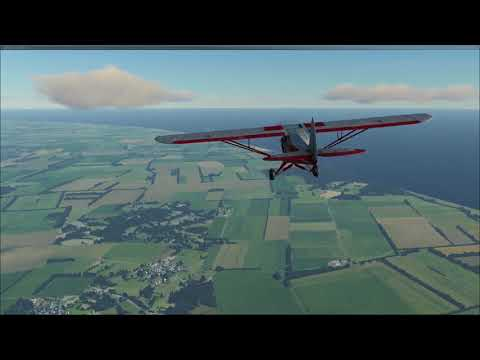 FSW - UK Coastal Cub Flight - Pt.3 EGSD - EG0E