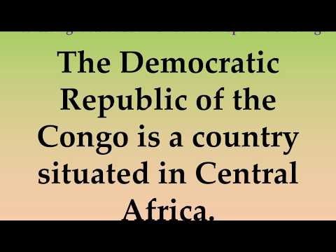 Interesting facts about Democratic Republic of Congo
