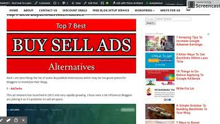 Top 7 BuySellAds Alternatives to Monetize Your Websites