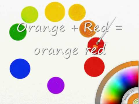 Mixing Paint Colors To Make Red