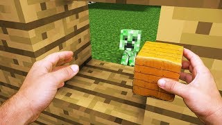 Realistic Minecraft Life Creeper Kid Minecraft Animation