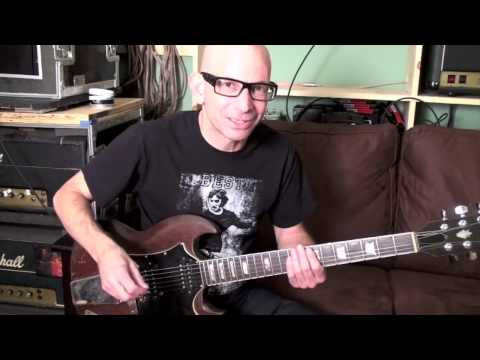 "CIRCLE JERKS ""Back Against the Wall"" guitar lesson for PlayThisRiff.com"