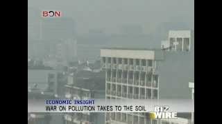 War on pollution takes to the soil - Biz Wire - March 21,2014 - BONTV China