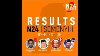 N24 Semenyih By election Results