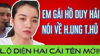 Em gái Hồ Duy Hải t.iết l.ộ tên của h.ung t.hủ | Lời k.hai hai nhân chứng mới |   Thuy To Channel