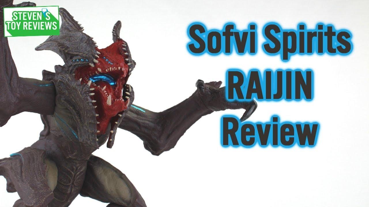 Sofvi Spirits Raijin Pacific Rim Uprising Kaiju Review