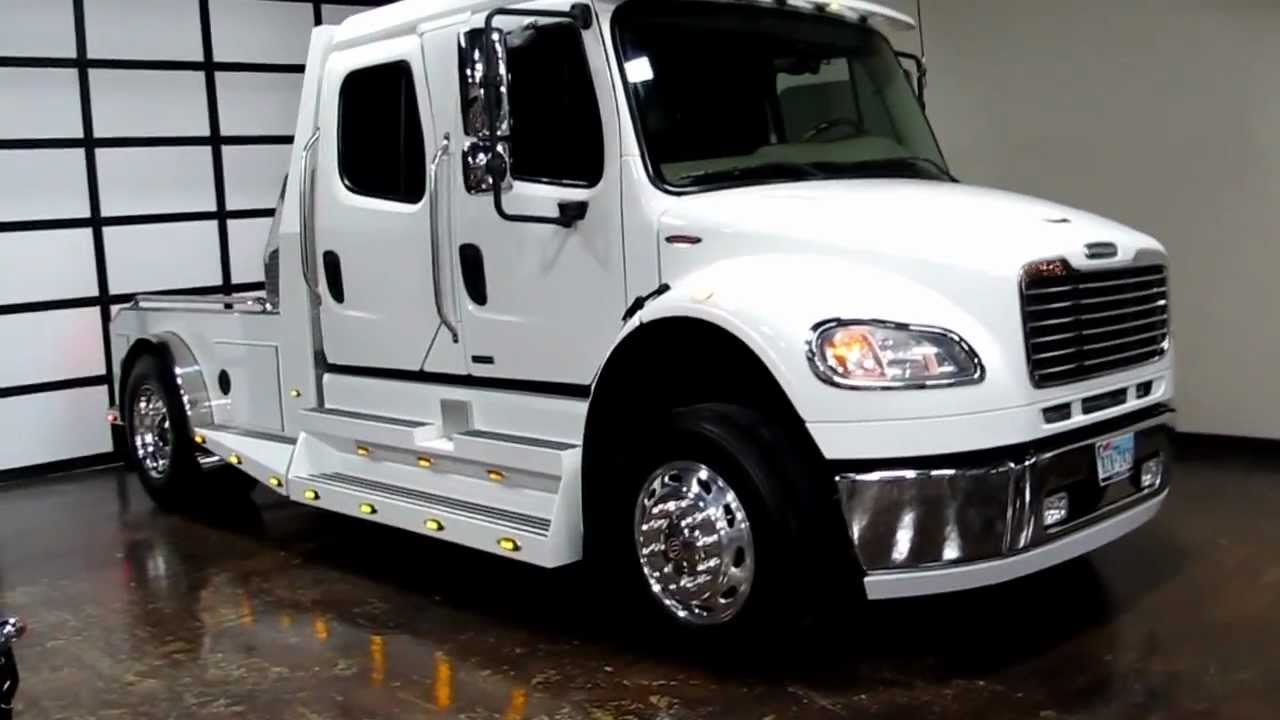 2007 Freightliner sportchassis, ranch hauler, luxury 5th wheel,horse trailer, Sold, Sold - YouTube