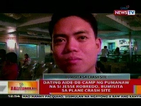 BT: Dating aide-de-camp ng pumanaw na si Jesse Robredo, bumisita sa plane crash site