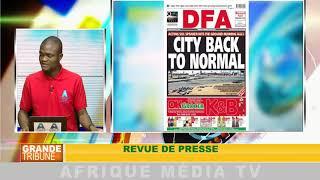 revue de presse : GRANDE TRIBUNE DU 02 08 2018