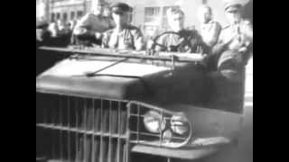 Mark Bernes - Song of a military driver (1946)