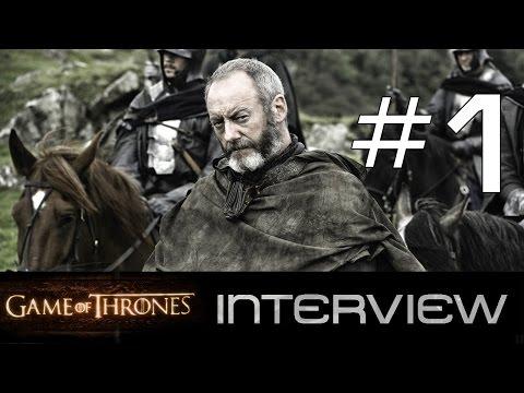 Game of Thrones: Interview mit Liam Cunningham aka Ser Davos Seaworth   Teil 1