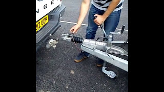 B+E Trailer Towing Test Re coupling/Uncoupling - 2018