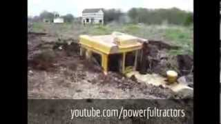 Tractors stuck in mud and manure 2014