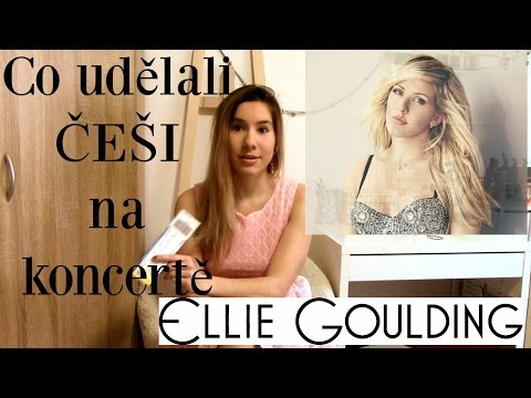 Co udělali ČEŠI na koncertě Ellie Goulding? A twitter info o Domče