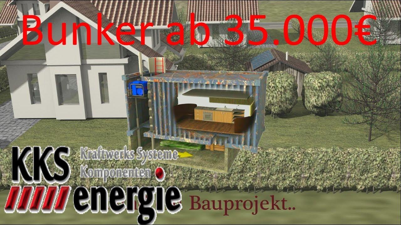 wir bauen bunker in deutschland ab schl sselfertig. Black Bedroom Furniture Sets. Home Design Ideas