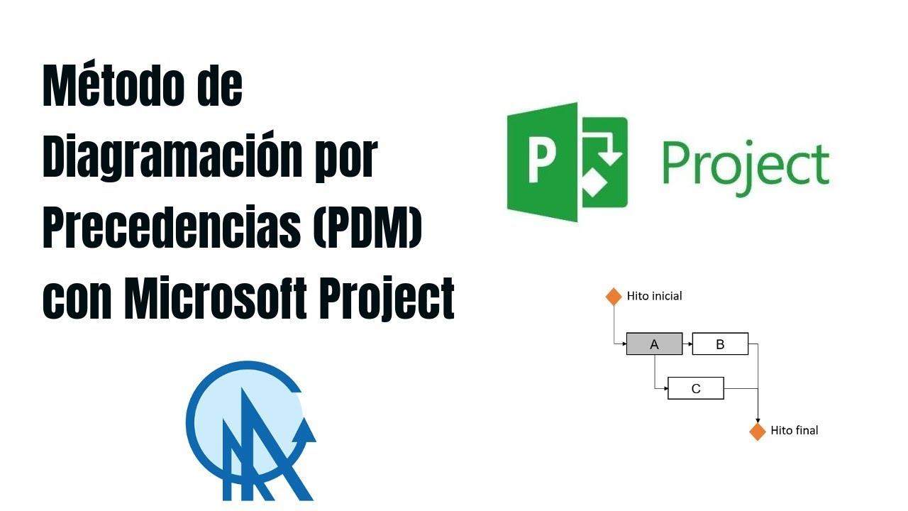 hight resolution of 03 m todo de diagramaci n por precedencias pdm con microsoft diagrama de precedencia procesos 03