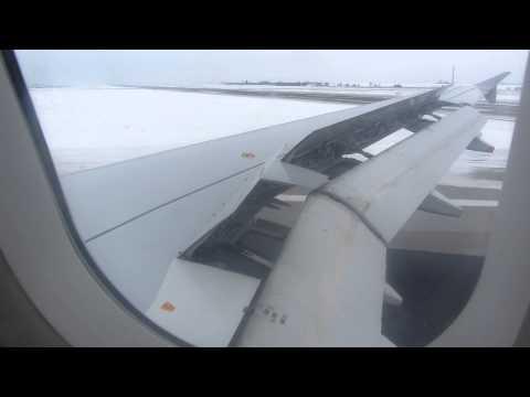 Landing in Prague