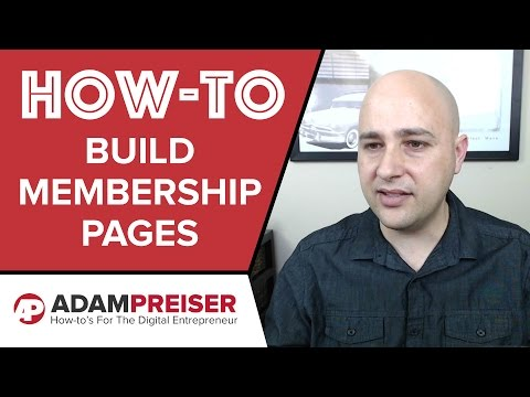How To Build A Membership Site With Thrive Content Builder