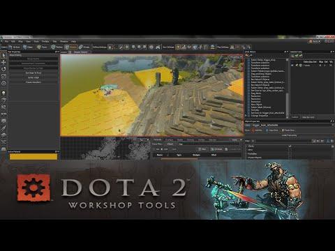 видео: Создаем простую карту в dota 2 workshop tools