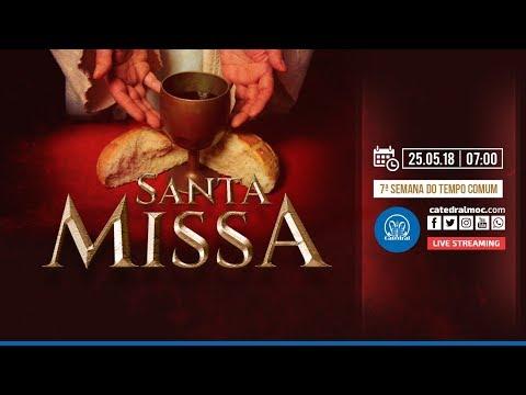 Santa Missa - 25/05/18 - 07:00 - Catedral de Montes Claros