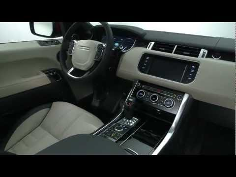 Int rieur nouveau range rover sport youtube for Interieur sport