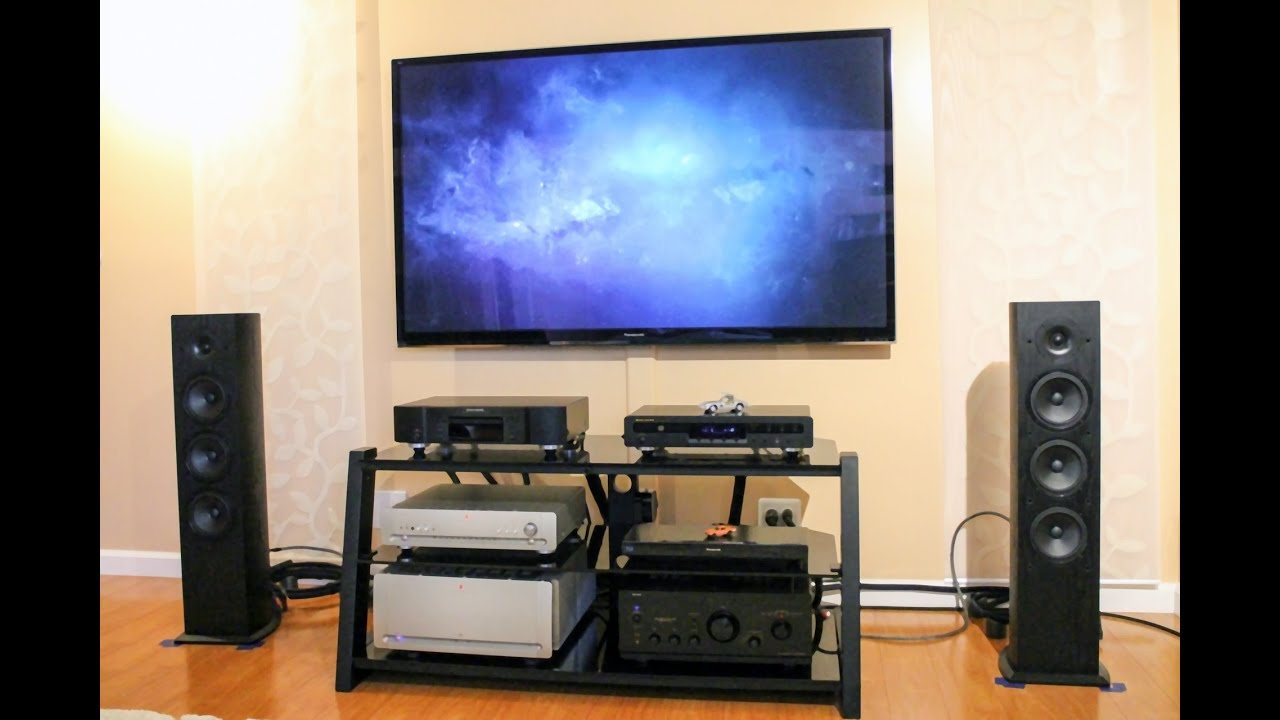 Pioneer FS52 Andrew Jones Design Tower Speakers Playing Evie Sands   YouTube