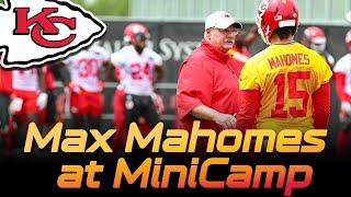 Chiefs Patrick Mahomes pushing Minicamp to the Max - Q&A   |   Kansas City Chiefs 2019 NFL