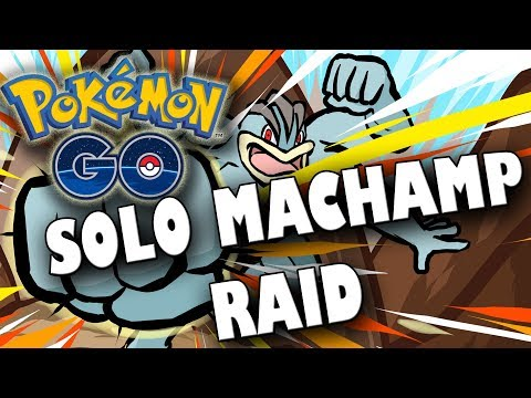 HOW TO BEAT A RANK 3 MACHAMP RAID SOLO! WHAT POKEMON TO USE? Pokemon Go Gen 2 EP30