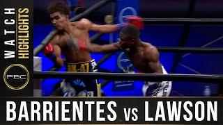 Barrientes vs Lawson HIGHLIGHTS: DECEMBER 26, 2020 - PBC on FOX