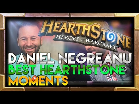 Daniel Negreanu best Hearthstone moments montage