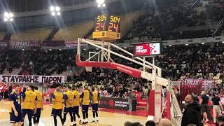 Η αποθέωση στονΜπαρτζωκα στο ματς Ολυμπιακός - Χίμκι